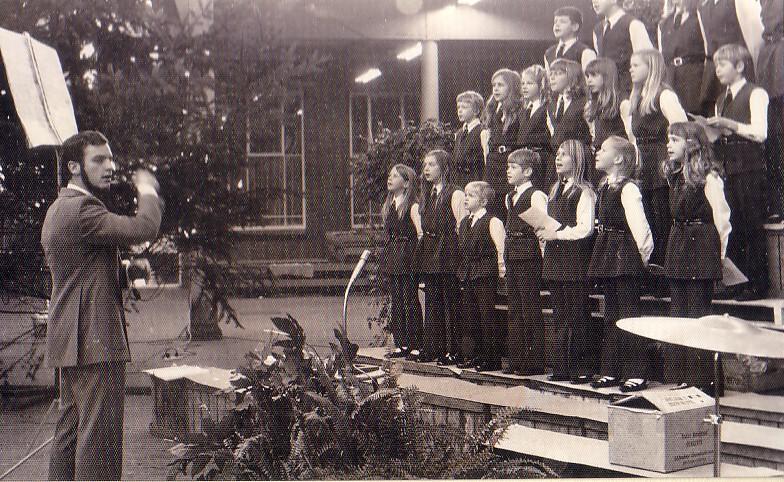 Kerstmeeting De Lier 1970