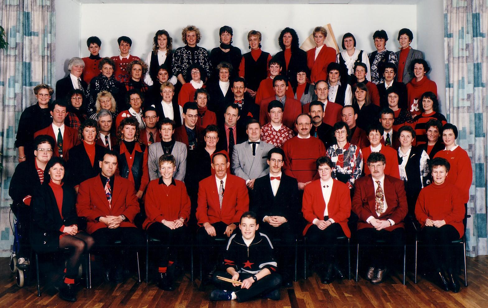 Les Sirènes 25 jaar 1994