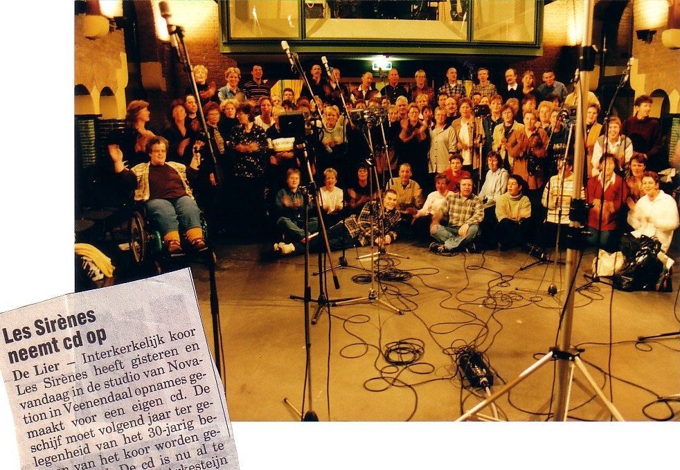 CD-opname Les Sirènes 1998