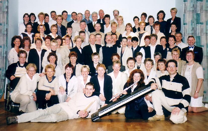 Les Sirènes 30 jaar 1999